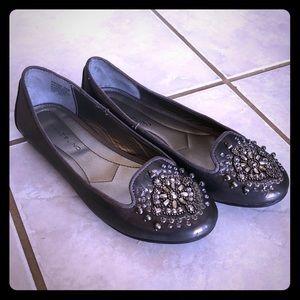 Bandolino Flats with Gemstone toe